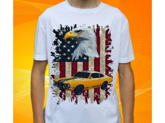 Dětské a pánské tričko s autem Ford Maverick