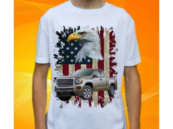 tričko s autem GMC Canyon