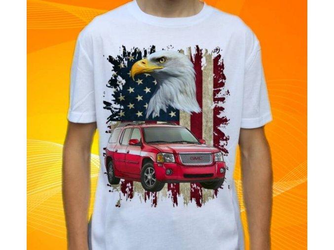 tričko s autem GMC Envoy XL Denali