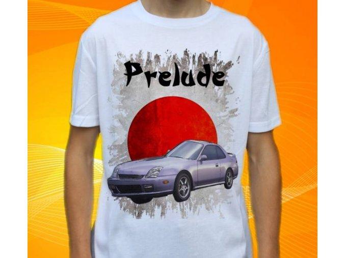 Dětské a pánské tričko s autem Honda Prelude