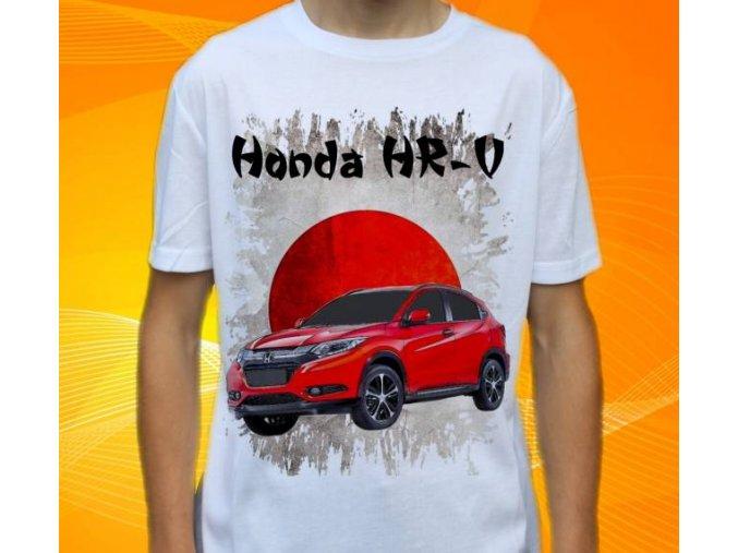 Dětské a pánské tričko s autem Honda HRV