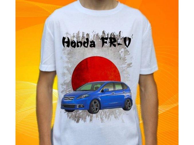 Dětské a pánské tričko s autem Honda FRV