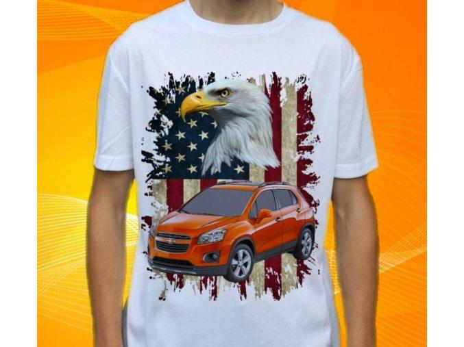 tričko s autem Chevrolet Trax