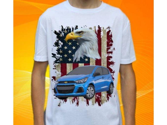 tričko s autem Chevrolet Spark