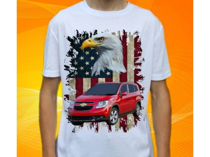 tričko s autem Chevrolet Orlando