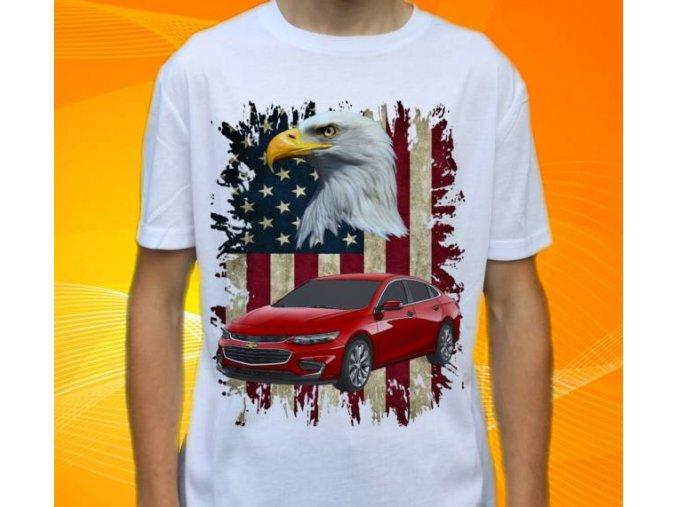 tričko s autem Chevrolet Malibu