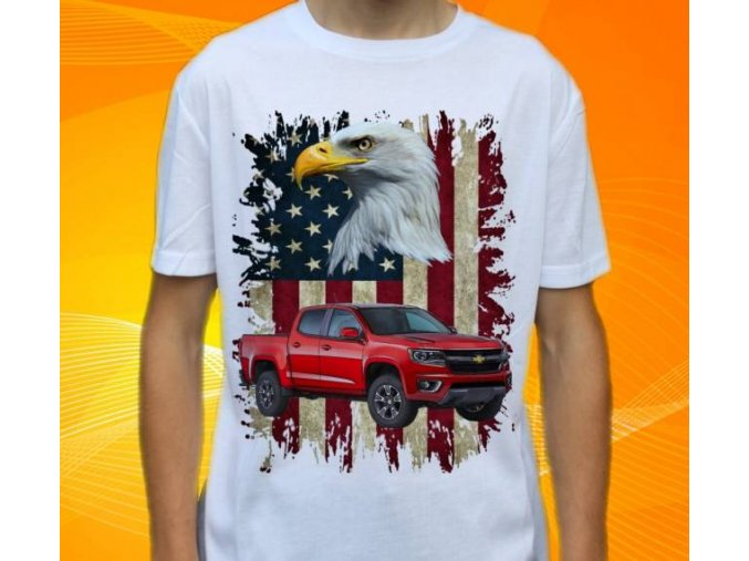 tričko s autem Chevrolet Colorado