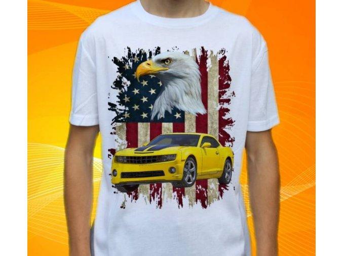 tričko s autem Chevrolet Camaro