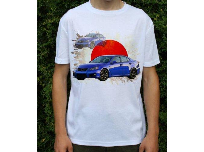 tričko s autem Lexus IS