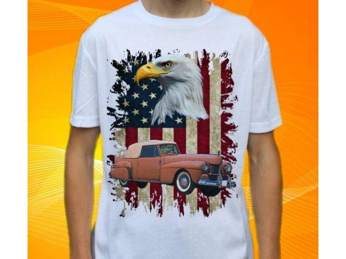 tričko s autem Lincoln Continental 1942