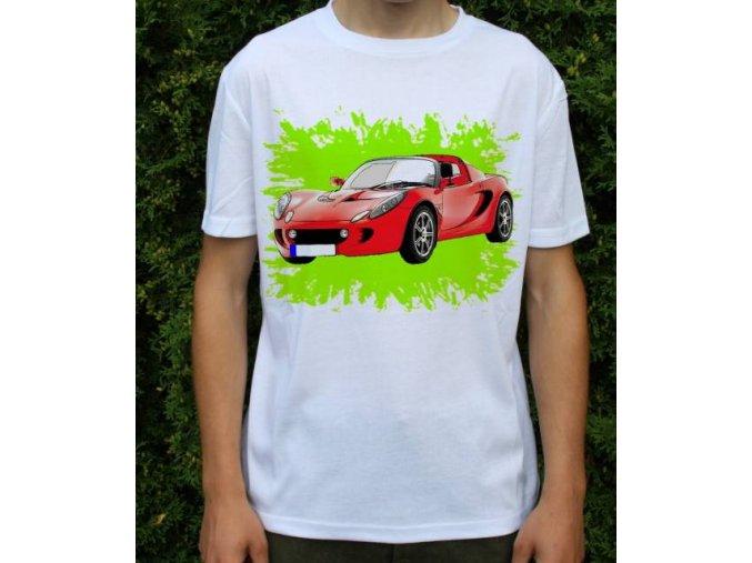 tričko s autem Lotus Elise