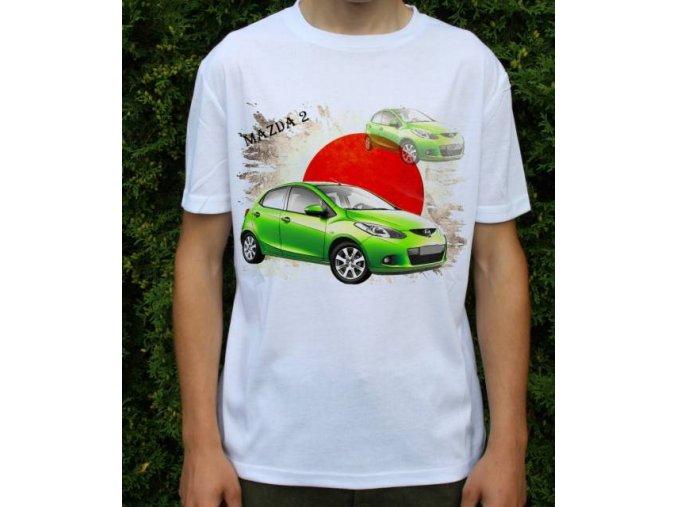 tričko s autem Mazda 2