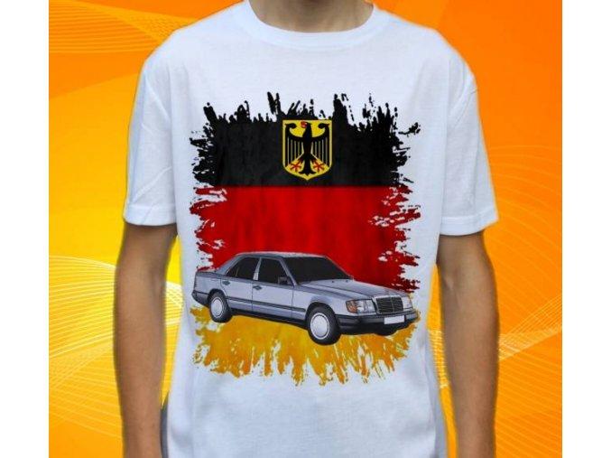 Dětské a pánské tričko s autem Mercedes Benz W24