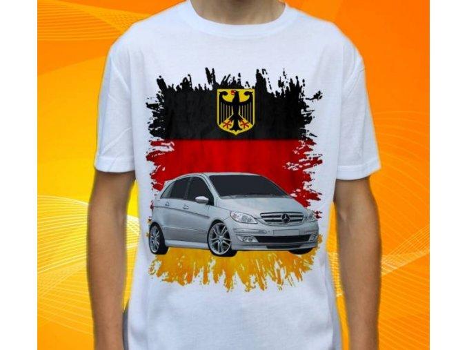Dětské a pánské tričko s autem Mercedes Benz B245