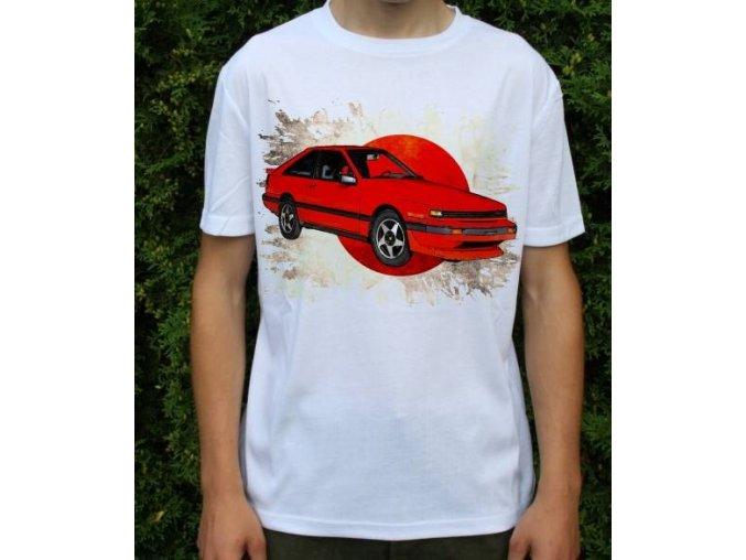 tričko s autem Nissan Silvia