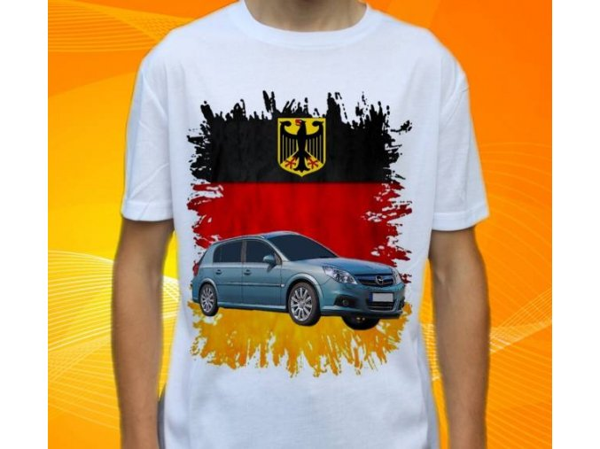 Dětské a pánské tričko s autem Opel Signum