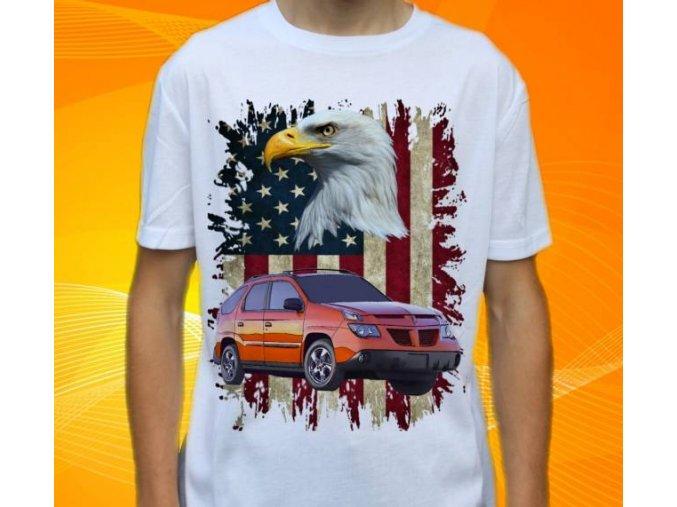 tričko s autem Pontiac Aztek