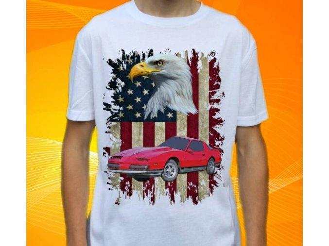 tričko s autem Pontiac Firebird 1988