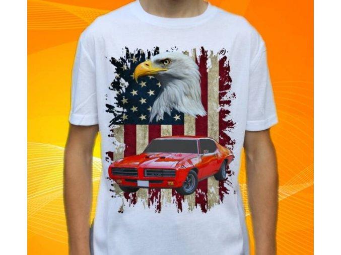 tričko s autem Pontiac Firebird GTO