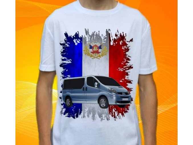 tričko s autem Renault Traffic