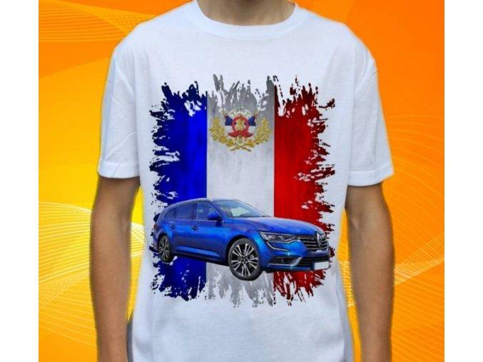 tričko s autem Renault Talisman Combi