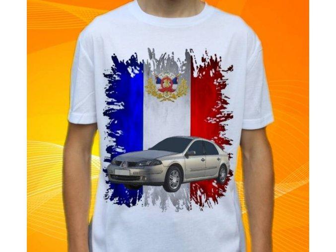 tričko s autem Renault Laguna 2005