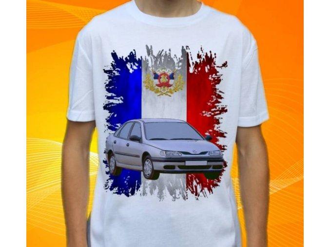 tričko s autem Renault Laguna 1998