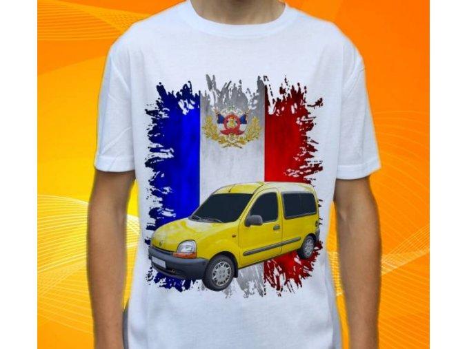 tričko s autem Renault Kangoo