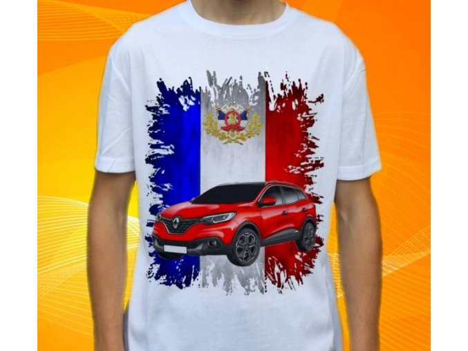tričko s autem Renault Kadjar