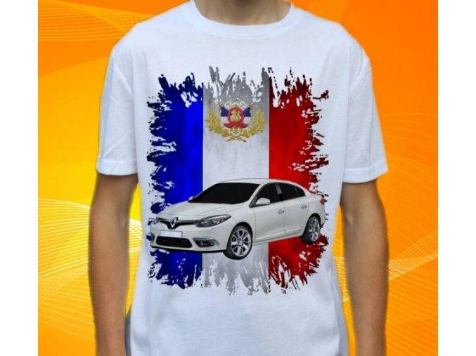 tričko s autem Renault Fluence