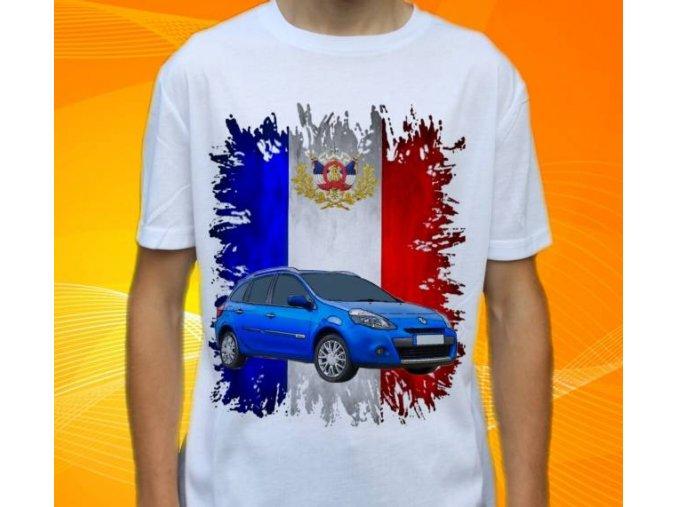 tričko s autem Renault Clio Estate