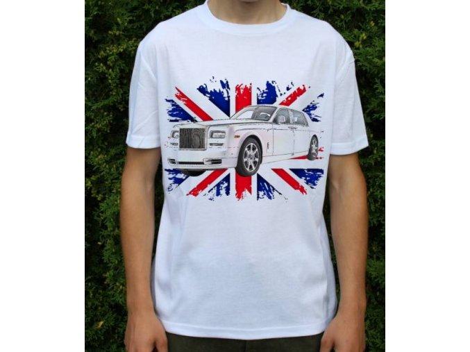 tričko s autem Rolls Royce Phantom