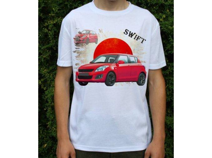 tričko s autem Suzuki Swift