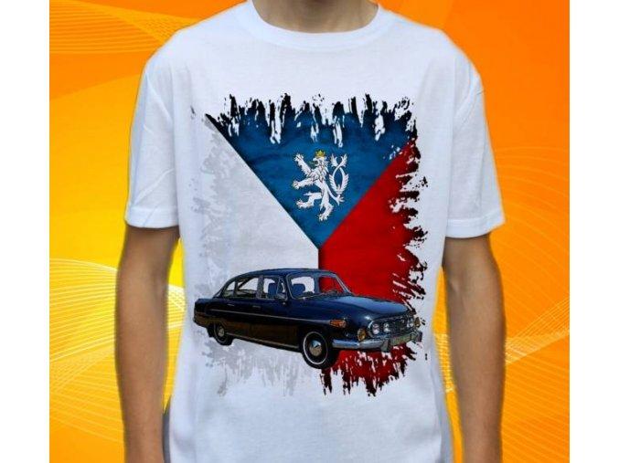 Dětské a pánské tričko s autem Tatra 603 1974