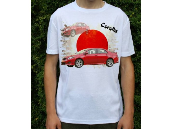 tričko s autem Toyota Corolla Older