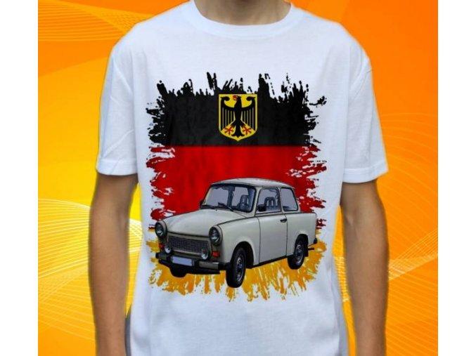tričko s autem Trabant 601