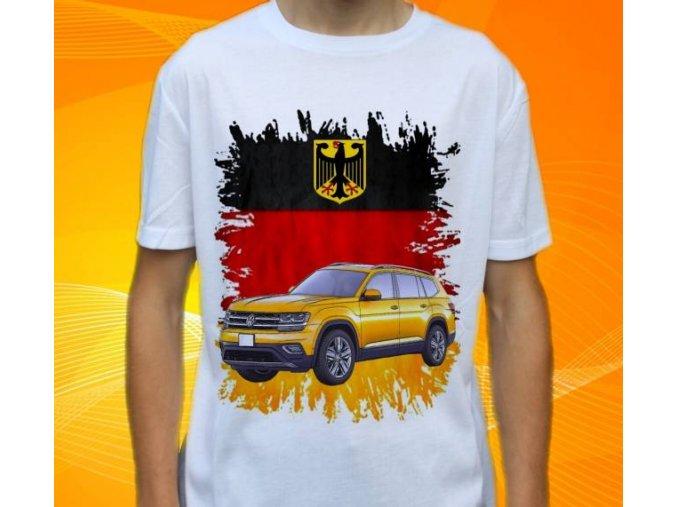 tričko s autem Volkswagen Atlas