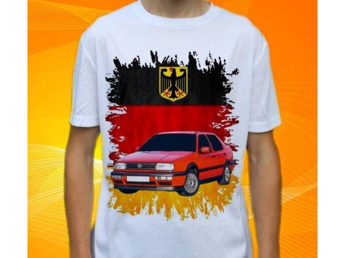 tričko s autem Volkswagen Vento 1992