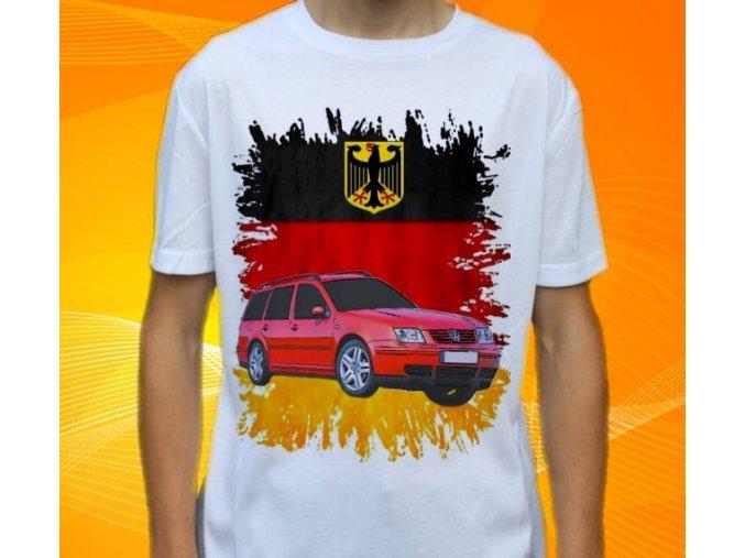 tričko s autem Volkswagen Bora Variant
