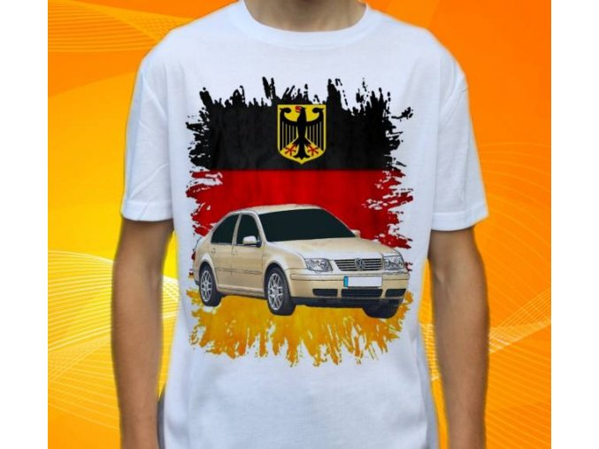 tričko s autem Volkswagen Bora