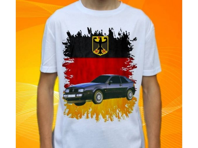 tričko s autem Volkswagen Corrado