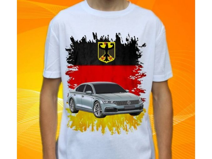tričko s autem Volkswagen Phaeton