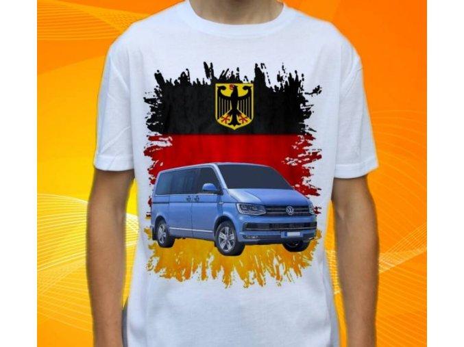 tričko s autem Volkswagen Multivan