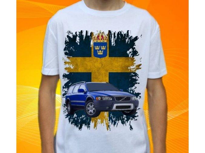 tričko s autem Volvo XC70