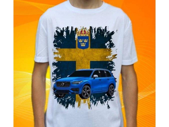 tričko s autem Volvo XC60