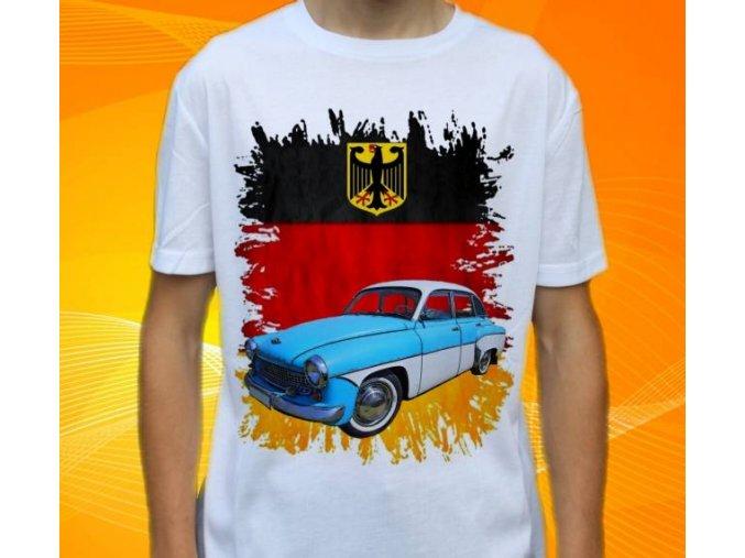 tričko s autem Wartburg 311