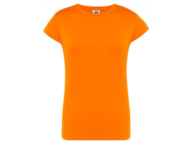 damske oranzove tricko