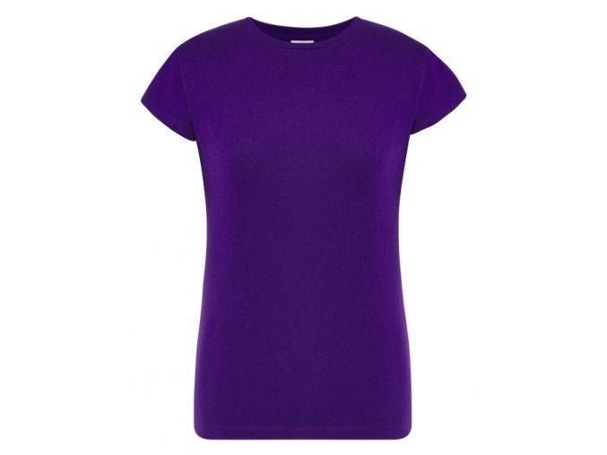 damske purpurove fialove tricko