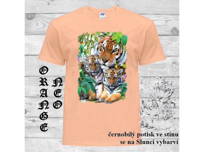 oranzove tricko tygri