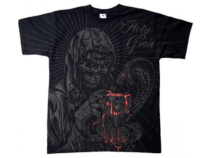 tričko, potisk, věční strážci, kobry, svatý grál, celoplošný